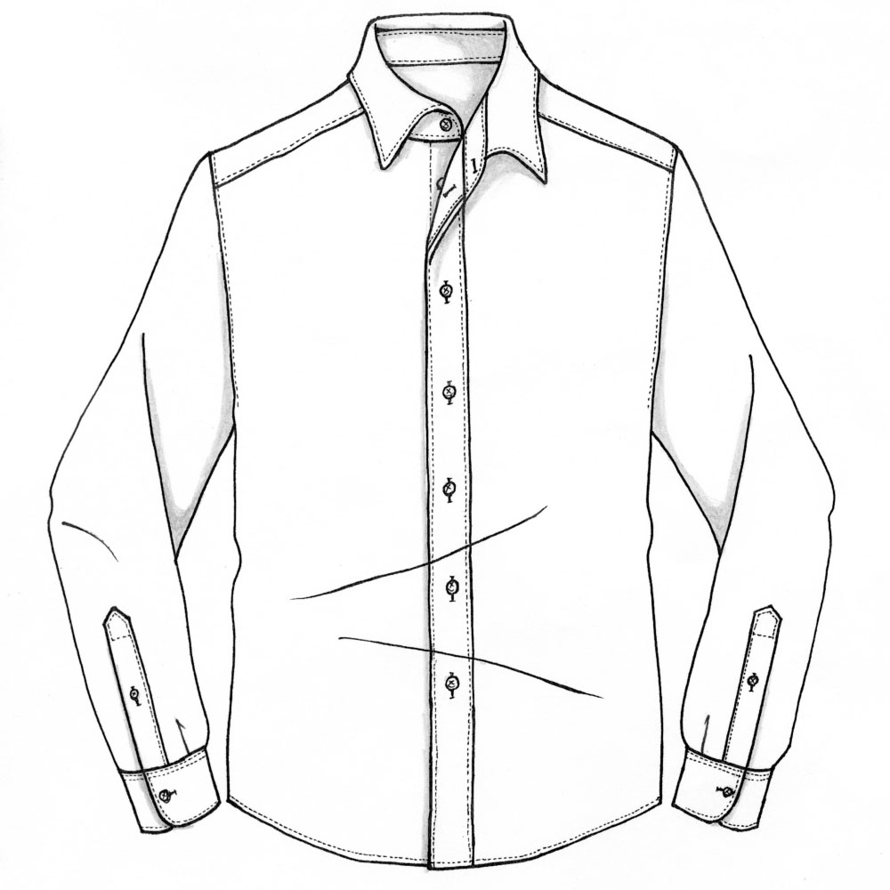 メンズカジュアルオーダーシャツイメージ