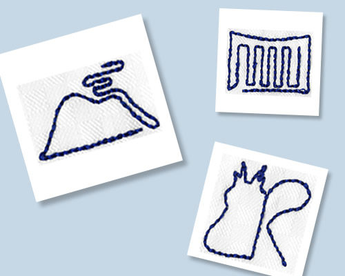 文化服装学院コラボ刺繍を見る
