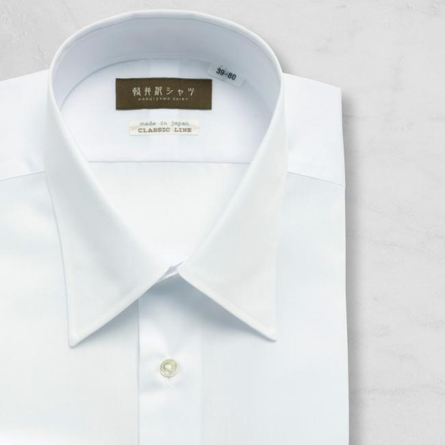 メンズシャツ 日本製 ドレスシャツ 綿100% 形態安定 長袖 貝釦 本格仕様 K12KZR217}